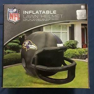 NFL Inflatable lawn helmet Baltimore Ravens